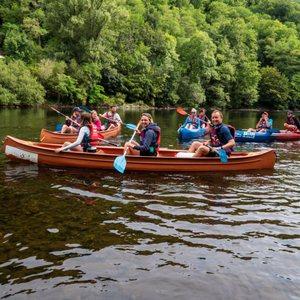 canoé beaulieu groupe et famille