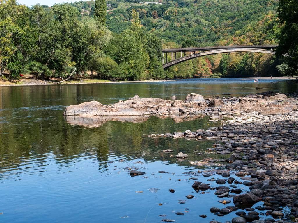 Pont Brivezac-parcours canoé