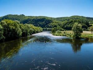 Photo Dordogne prise depuis Monceaux