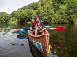 Les parcours de canoé depuis Beaulieu